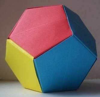 make a dodecahedron from a4 paper think maths